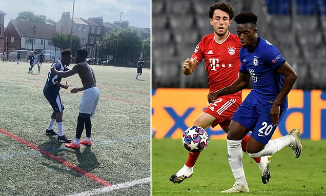 Hudson-Odoi plays Sunday league just 12 HOURS after Champions League