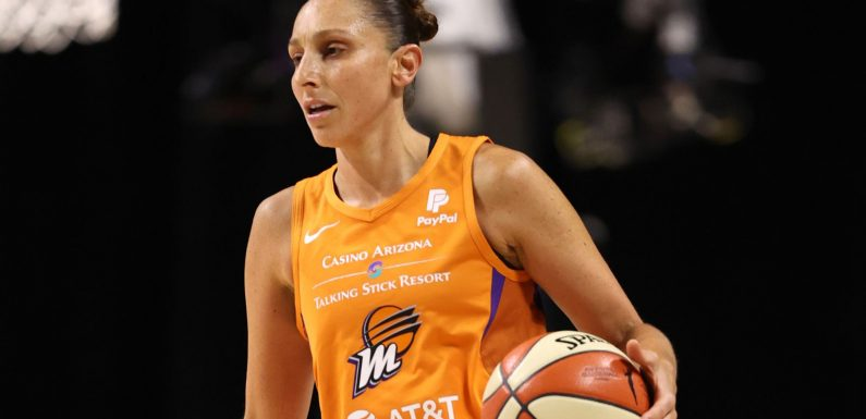 WNBA: Diana Taurasi scores 22 points to lead Phoenix Mercury to win over Las Vegas Aces