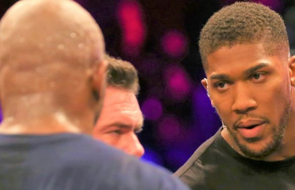 Dillian Whyte promises brutal response after Anthony Joshua threatened to 'give him a punch'