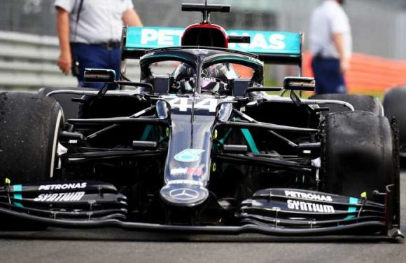 Lewis Hamilton still hit over 140mph with punctured tyre at British GP