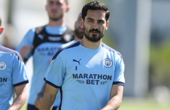 Ilkay Gundogan confirmed to have Covid-19 hours before Man City play Wolves