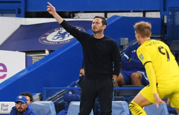Chelsea boss Frank Lampard sends double transfer hint with Barnsley selection