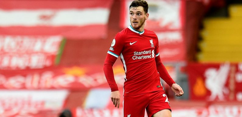 Andy Robertson explains touching reason for having 'Cheeky V' on his boots