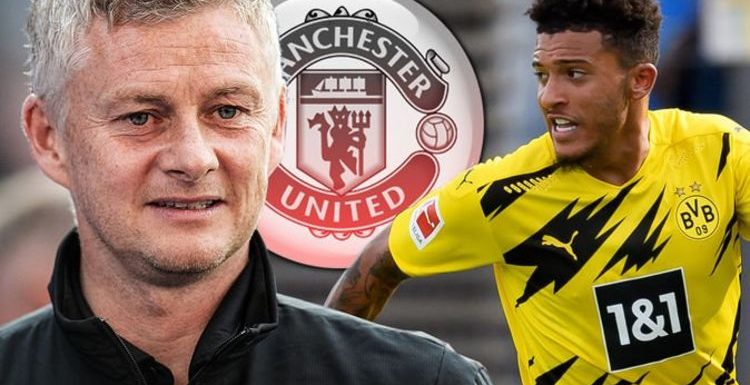 Man Utd boss Ole Gunnar Solskjaer drops Jadon Sancho transfer hint after contract agreed
