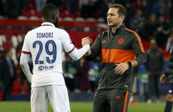 Chelsea boss Frank Lampard drops Fikayo Tomori hint after Everton, Rennes transfer links