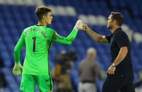 Chelsea boss Frank Lampard sent Edouard Mendy message after fresh Kepa Arrizabalaga error