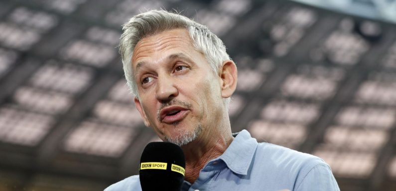 Gary Lineker signs new BBC deal but takes pay cut to keep Match of the Day job