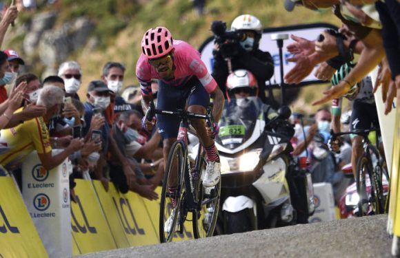 Martinez wins a brutal Tour de France stage on the Puy Mary