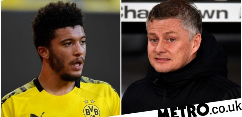 Ole Gunnar Solskjaer tells Jadon Sancho that Manchester United move is imminent