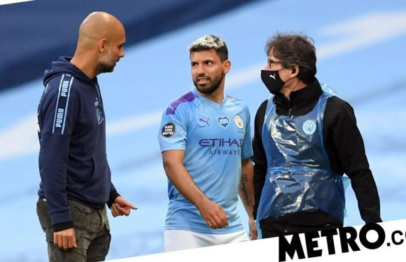 Sergio Aguero knee injury could keep him out till November