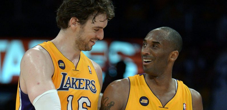 Pau Gasol gives newborn daughter middle name Gianna to honor Gigi Bryant
