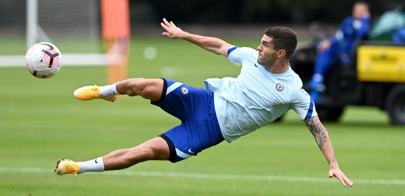 Chelsea injury news and expected return dates including Pulisic and Ziyech
