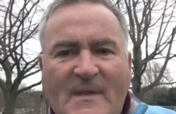 Richard Keys cashing in on infamous 'smash it' remark that cost Sky Sports job
