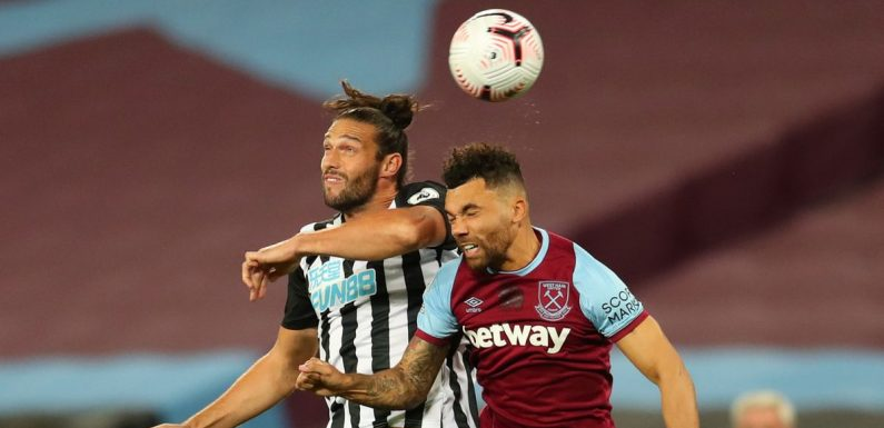 Carroll ordered to keep beating up Newcastle opponents despite red card concerns