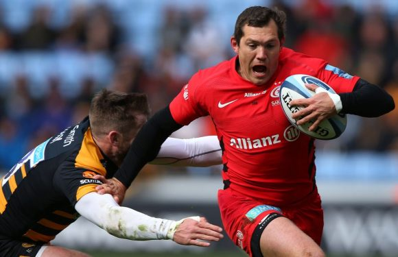 Alex Goode ready to fill Owen Farrell's boots – just don't tell his mum