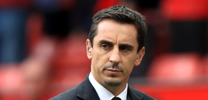 Gary Neville makes grave Man Utd prediction as he hails Liverpool and Man City