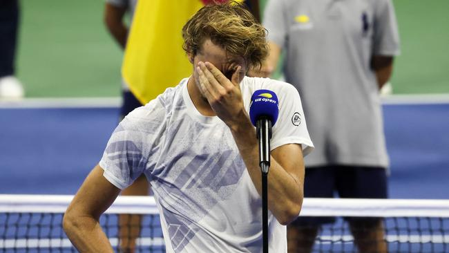 Tennis world reacts to devastated star's heartbreaking tears