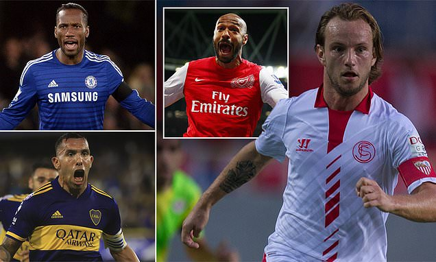 10 players who re-signed for old clubs as Rakitic returns to Sevilla
