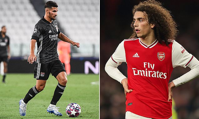Juninho: Lyon won't swap Houssem Aouar for Arsenal's Matteo Guendouzi