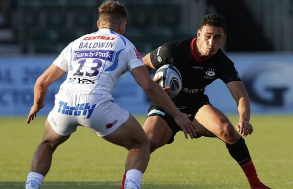 Saracens 40-17 Exeter: Sarries thrash youthful Chiefs side