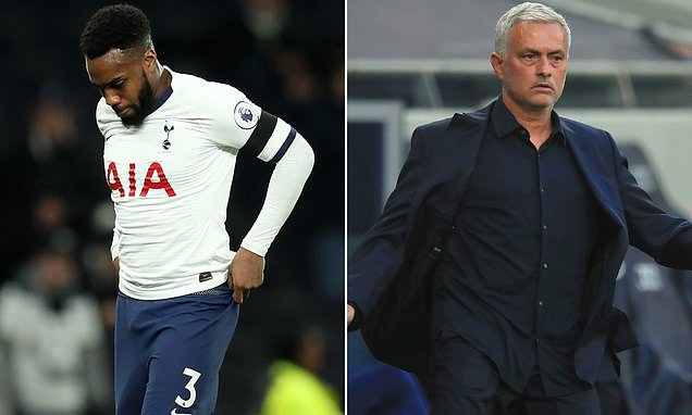 Tottenham outcast Danny Rose 'was NOT told he was losing No 3 shirt'