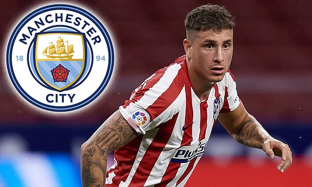 Man City weighing up move for Atletico Madrid centre back Jose Gimenez