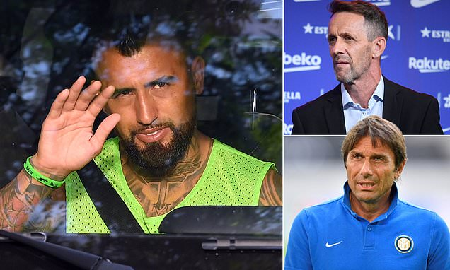 Barcelona's Planes all but confirms Arturo Vidal's move to Inter Milan