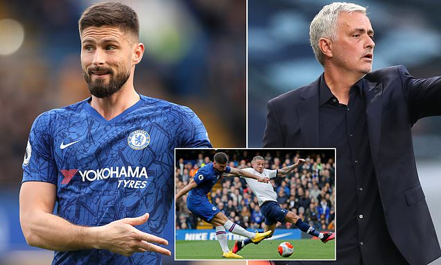 Olivier Giroud admits he almost joined rivals Tottenham in January