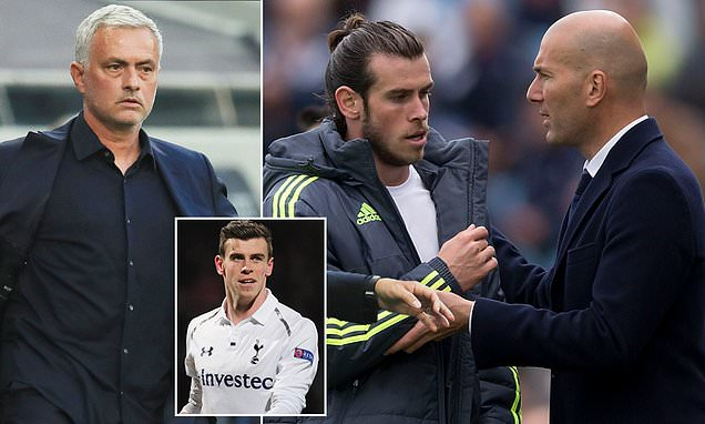 Zidane has given up on Bale but Mourinho would love to prove him wrong