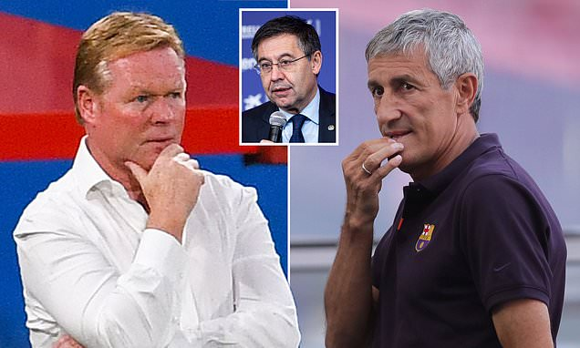 Ronald Koeman 'CANNOT take charge of an official Barcelona game yet'