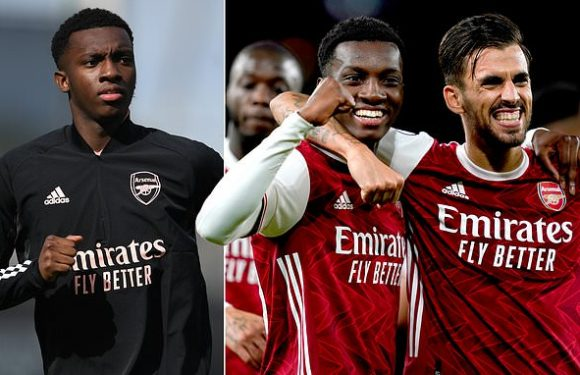 Eddie Nketiah says 'it's all love' between himself and Dani Ceballos