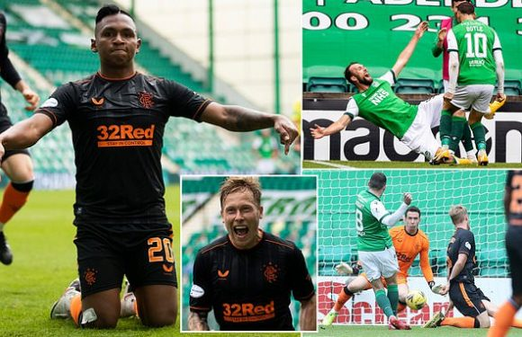 Hibernian 2-2 Rangers: Scottish Premiership leaders Rangers take draw