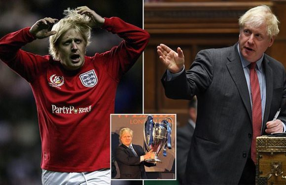 MARTIN SAMUEL: Boris Johnson loves football only when it suits him
