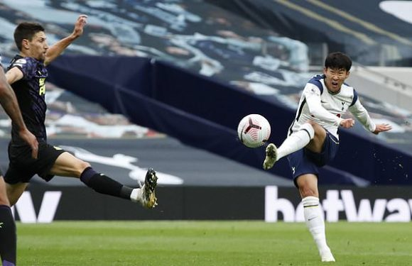 Tottenham's Son Heung-Min sidelined 'for a while' with hamstring issue