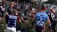Footy team booted out of competition for shocking sideline brawl