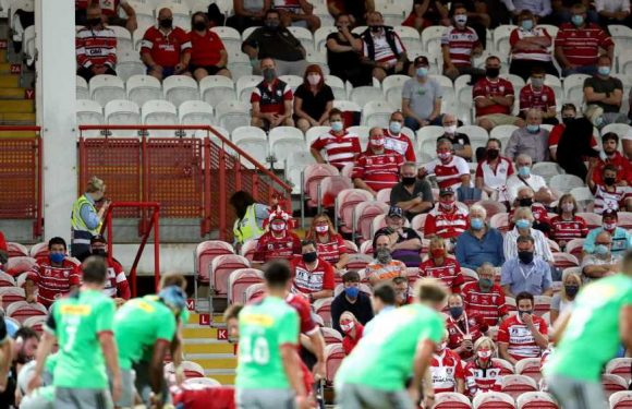Premiership Rugby and Super League granted more pilot events in effort to get fans back at live sporting events