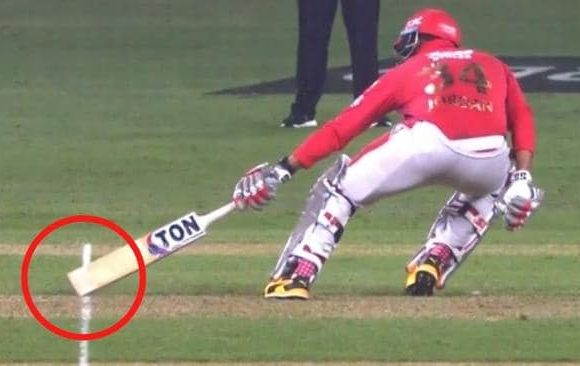 Cricket world erupts after 'terrible' call