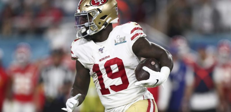 49ers to activate WR Deebo Samuel off non-football injury list