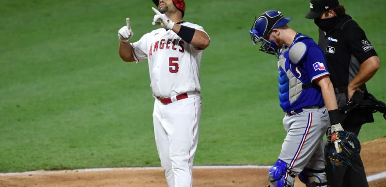 Pujols passes Mays for fifth all time with 661st HR
