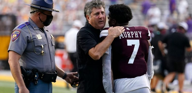 Social media reacts to Mike Leach, K.J. Costello and Mississippi State upsetting LSU