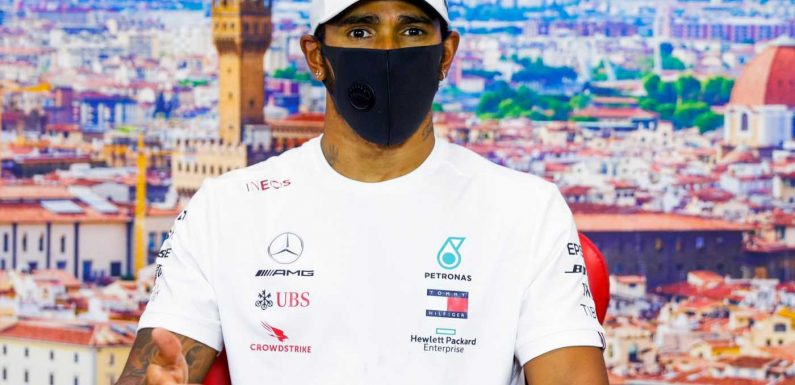 Lewis Hamilton accuses Formula One of prioritising excitement over safety in wake of four-way crash at Tuscan Grand Prix