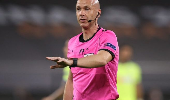 Premier League referee Anthony Taylor to take charge of Uefa Super Cup