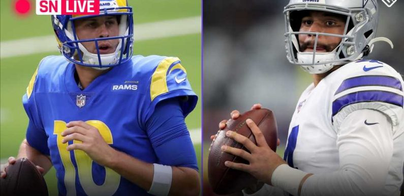 Cowboys vs. Rams live score, updates, highlights from NFL's 'Sunday Night Football' game