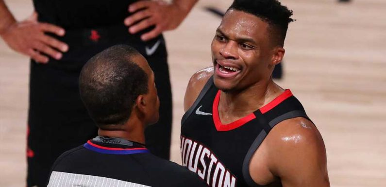 Russell Westbrook on shouting match with Rondo's brother: 'Shut your mouth and watch the game'