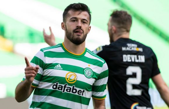 Celtic 3-2 Livingston: Champions survive late fightback from visitors to seal victory
