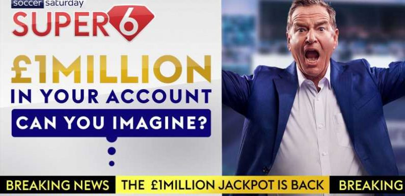 One week to win £1m with Super 6! Free to play