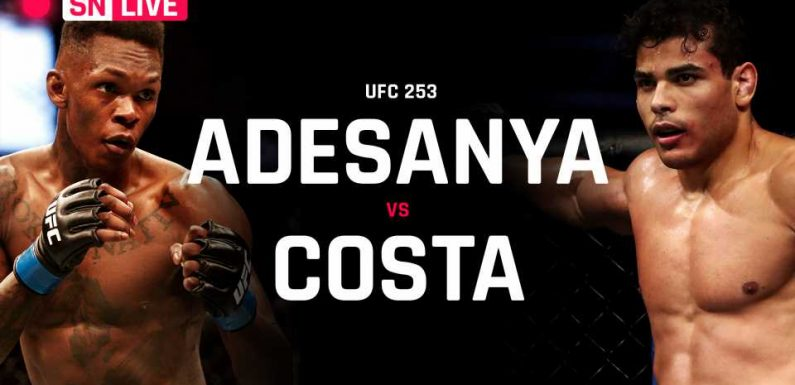 UFC 253 live updates, results, highlights from Israel Adesanya vs. Paulo Costa fight & full card