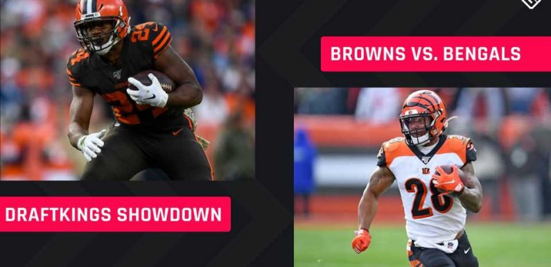 Thursday Night Football DraftKings Picks: NFL DFS lineup advice for Week 2 Bengals-Browns Showdown tournaments
