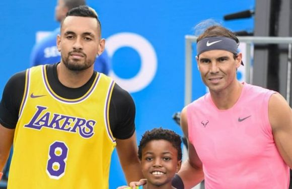 Nick Kyrgios sets about fixing Rafael Nadal relationship but retains Roger Federer belief
