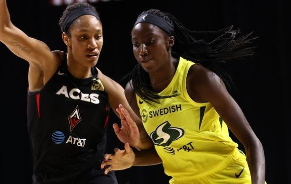 Seattle Storm's Ezi Magbegor becomes second youngest player to win WNBA title